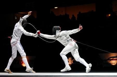 C'est, notamment, via l'esthétique de ce sport que Léonore Perrus a d'abord été attirée par l'escrime.