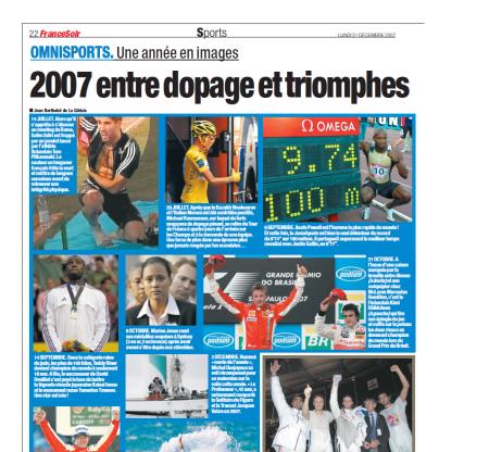 2007 entre dopage et triomphe