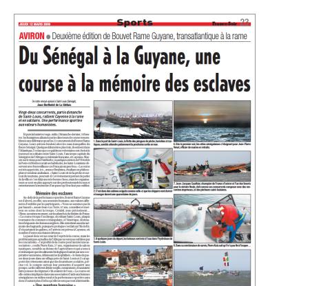 Du Sénégal à la Guyane