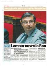 Lamour et la Bourse
