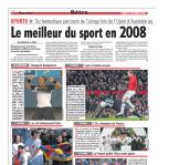Le meilleur du sport en 2008