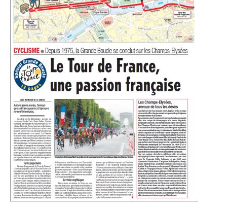 Le Tour de France, une passion française