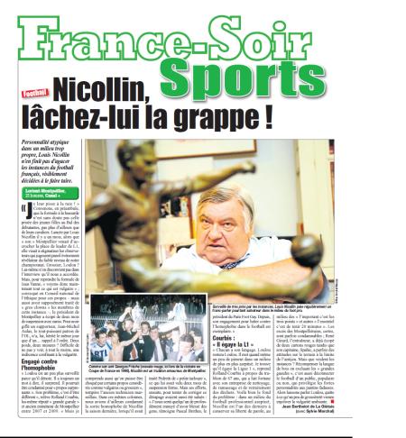 Nicollin, grappe