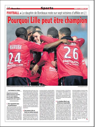 Pourquoi Lille peut être champion