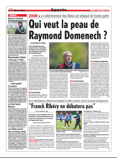 Qui veut la peau de Raymond Domenech