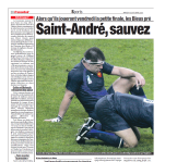Saint andré, sauvez