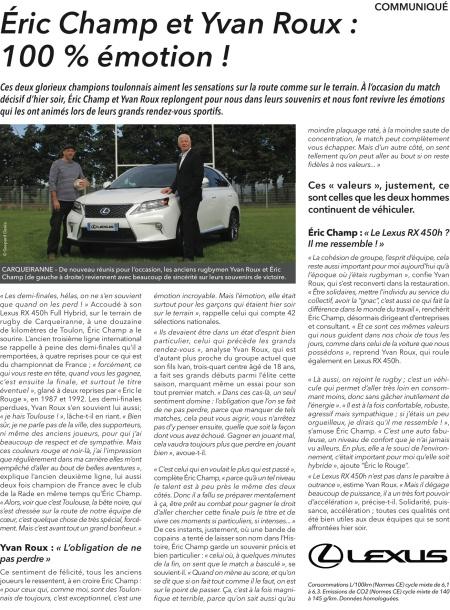 Lexus L'Equipe